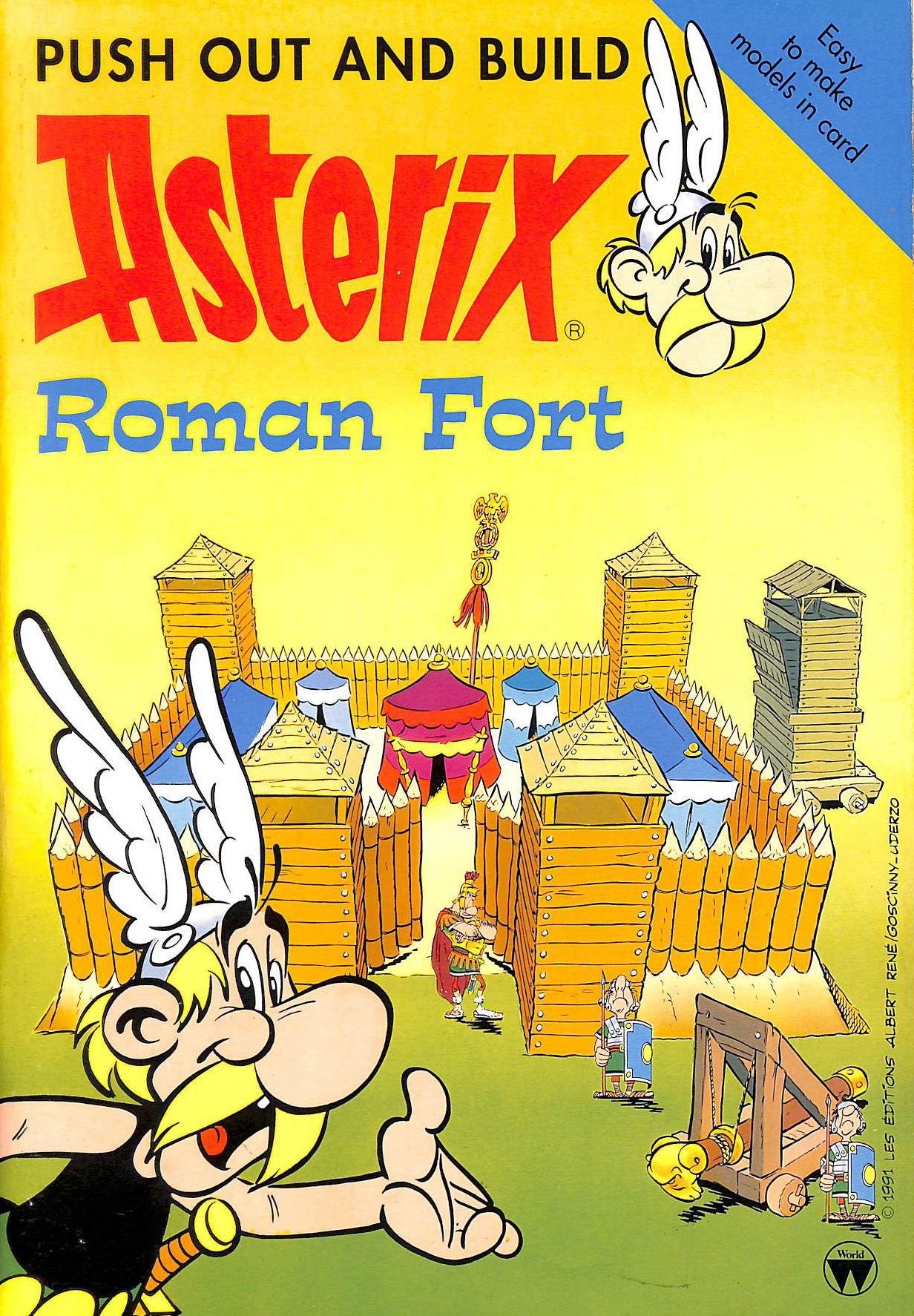 Image for Asterix Push Out and Build: Roman Fort (Asterix push out & build)