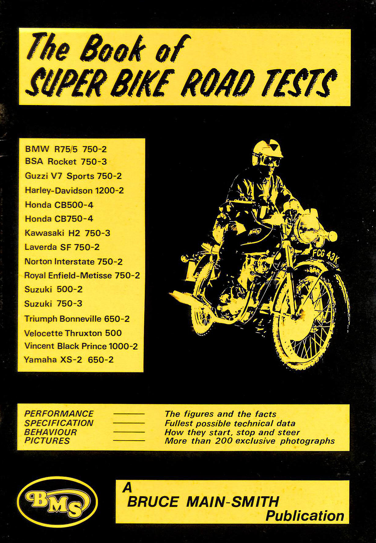 Image for The Book of Super Bike Road Tests