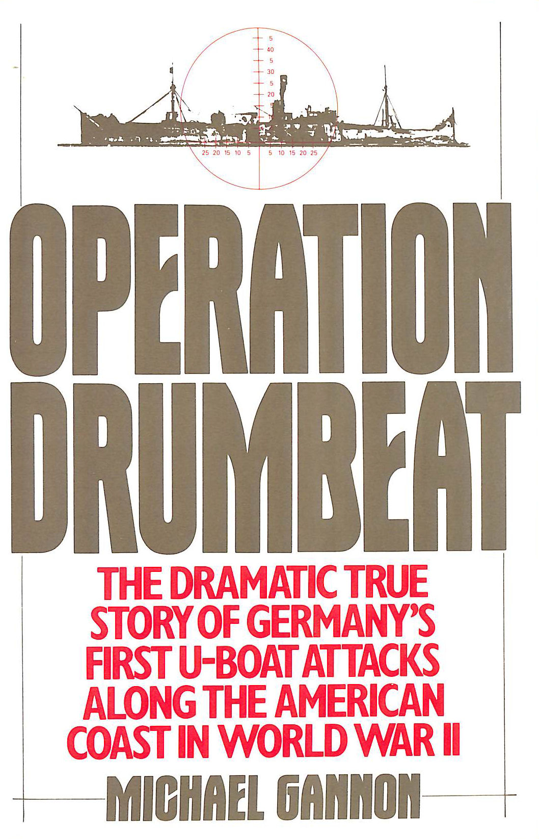 Image for Operation Drumbeat: Germany's First U-boat Attack Against the American Coast in World War II