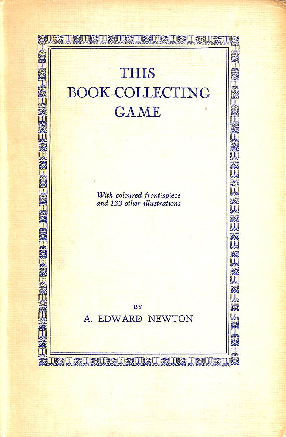Image for This Book-Collecting Game