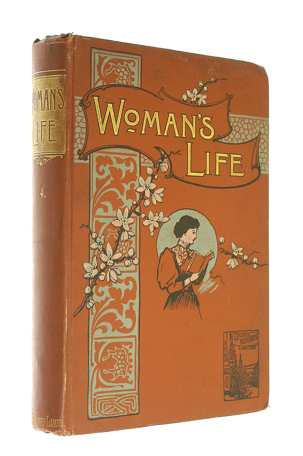 Image for Woman's Life An Illustrated Weekly for the Home Vol. 1 December 14 1895 - March 7 1896 Vol. IV September 13 - December 5 1896
