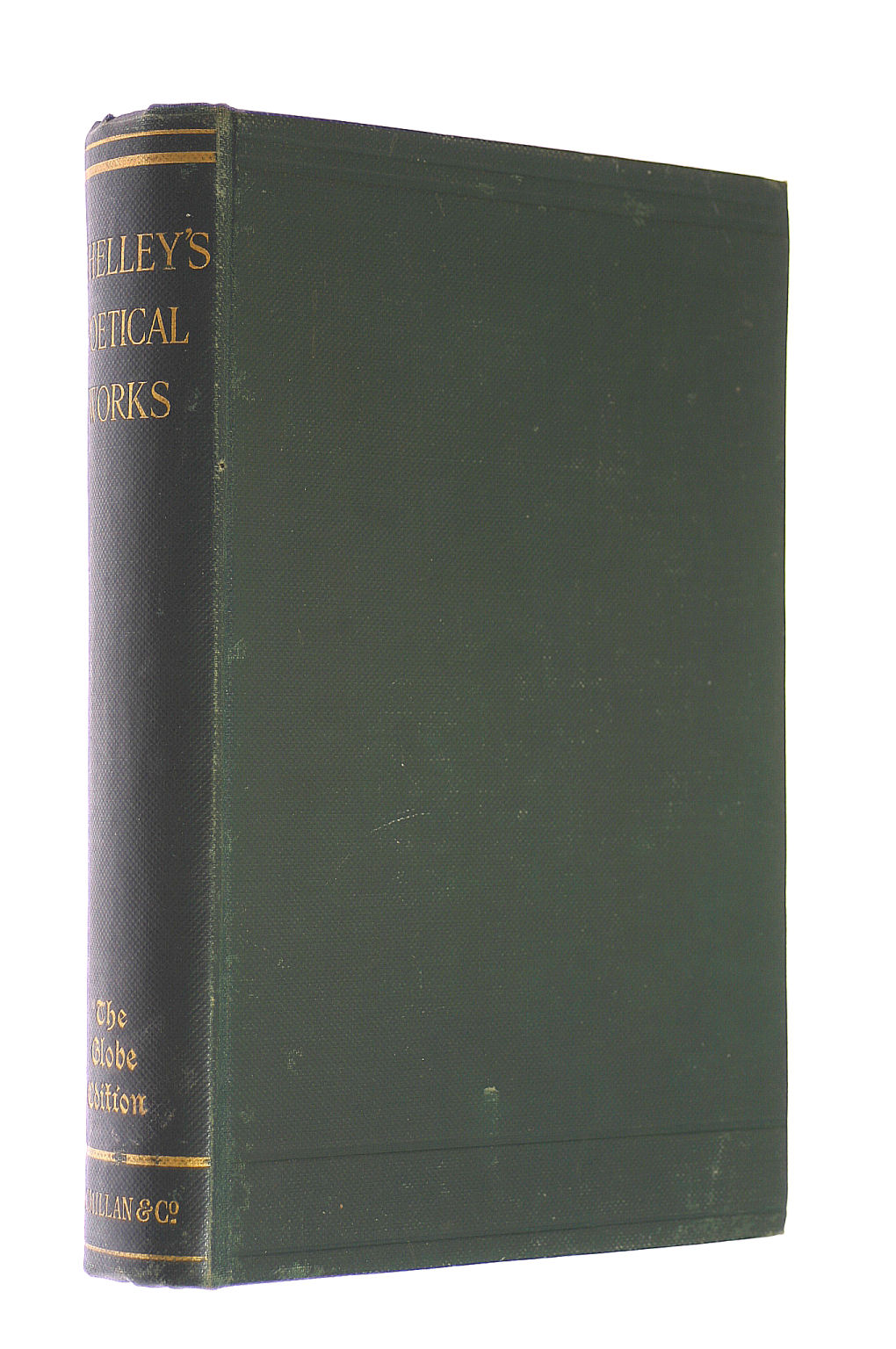Image for The Poetical Works of Percy Bysshe Shelley