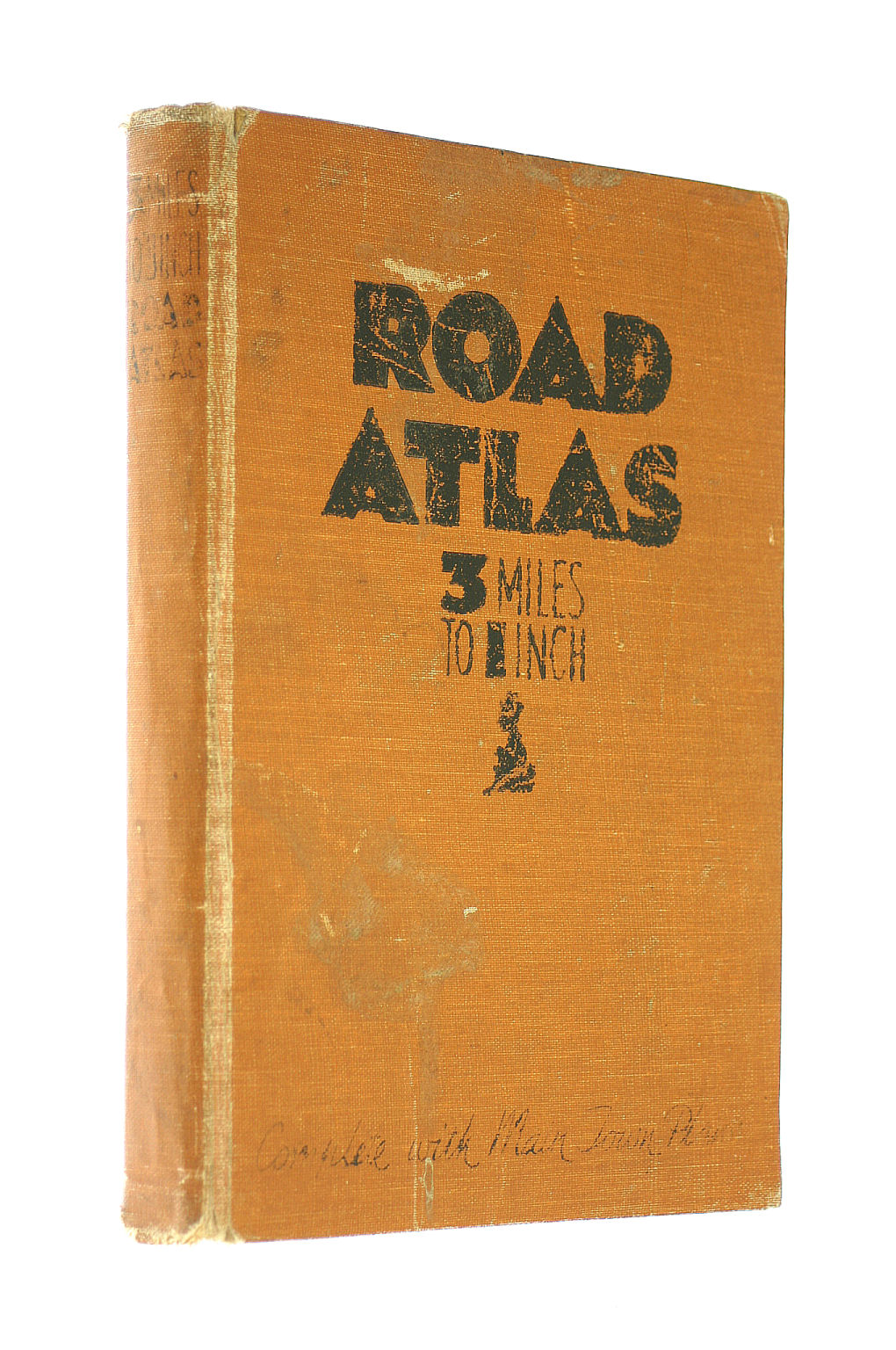 Image for 3 Miles To 1 Inch Road Atlas