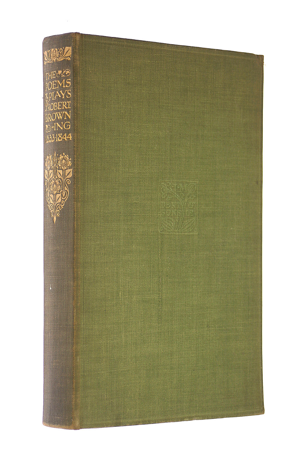 Image for The Poems & Plays of Robert Browning 1833 - 1844