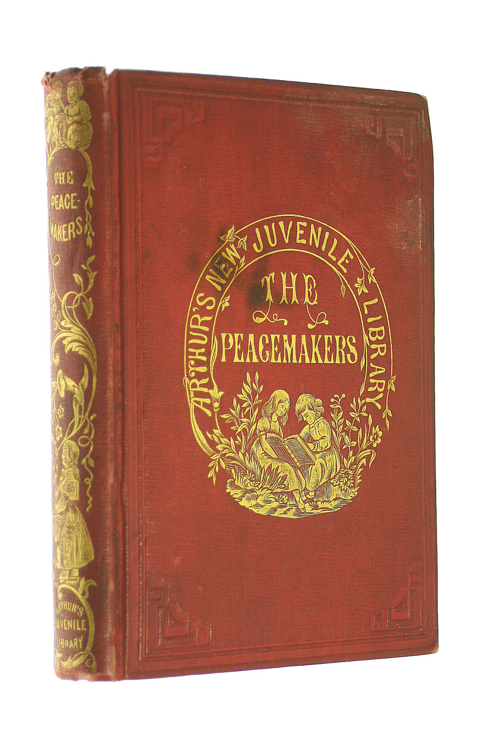 Image for Cedardale, or, The peacemakers: A story of village life (Arthur's Juvenile library)