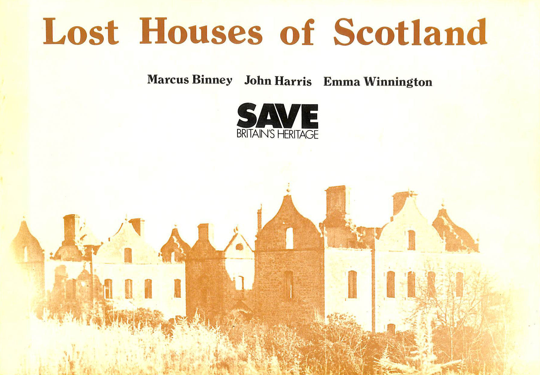 Image for Lost Houses of Scotland