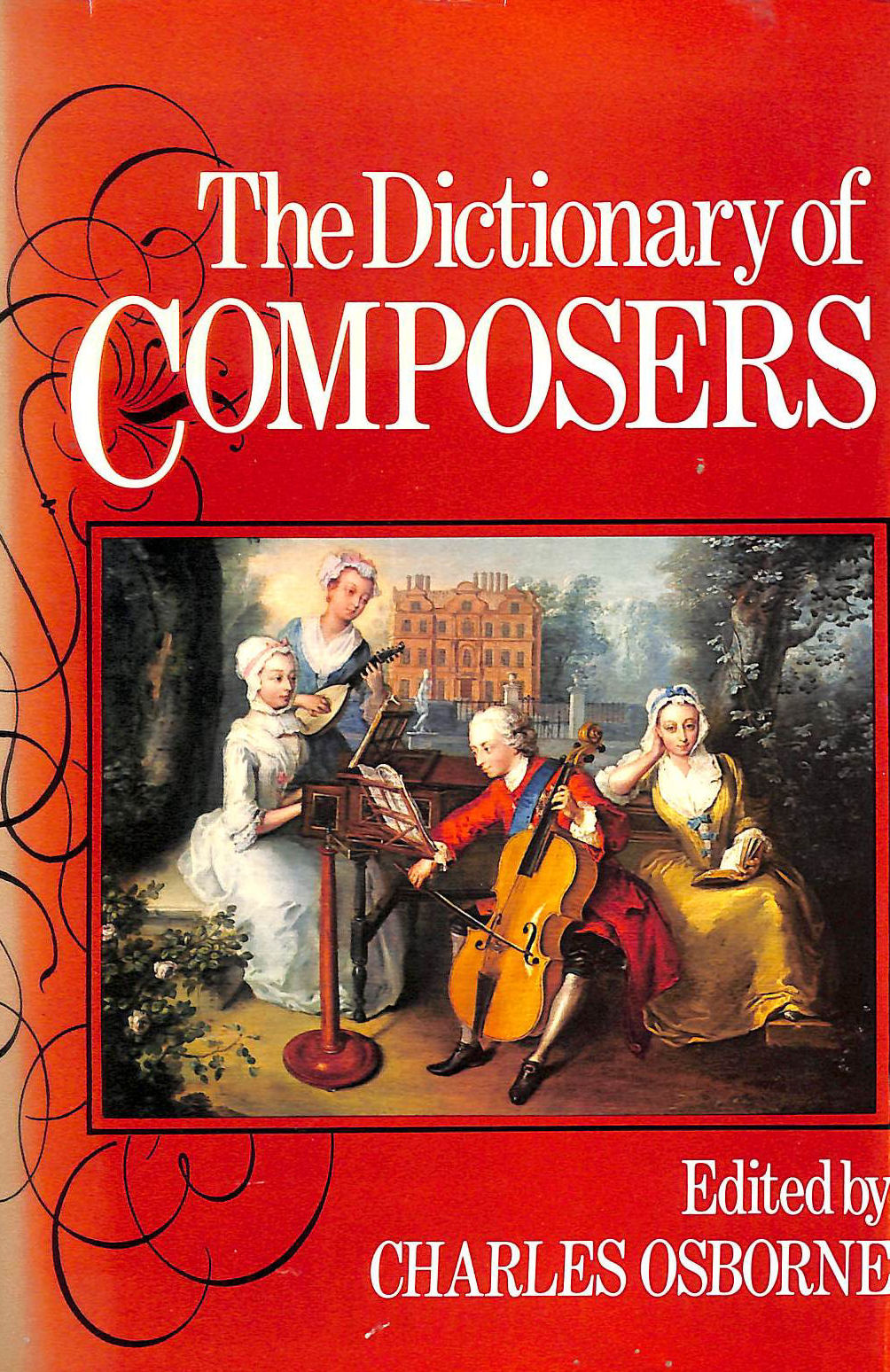 Image for The Dictionary of Composers