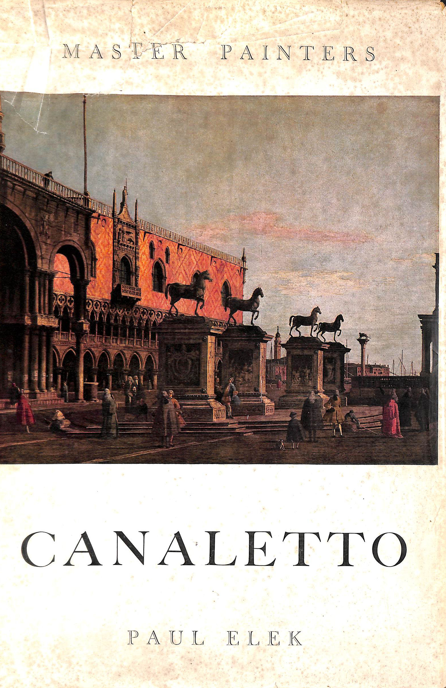 Image for Master Painters; Canaletto