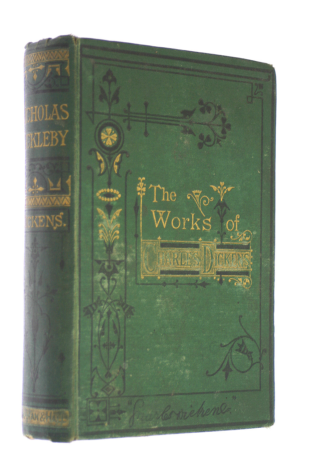 Image for The Works Of Charles Dickens - Household Edition: The Life And Adventures Of Nicholas Nickleby