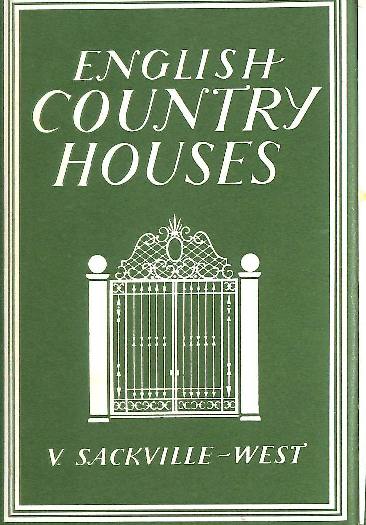 Image for English Country Houses