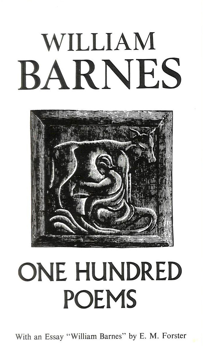 Image for One Hundred Poems: With an Essay William Barnes by E.M. Forster