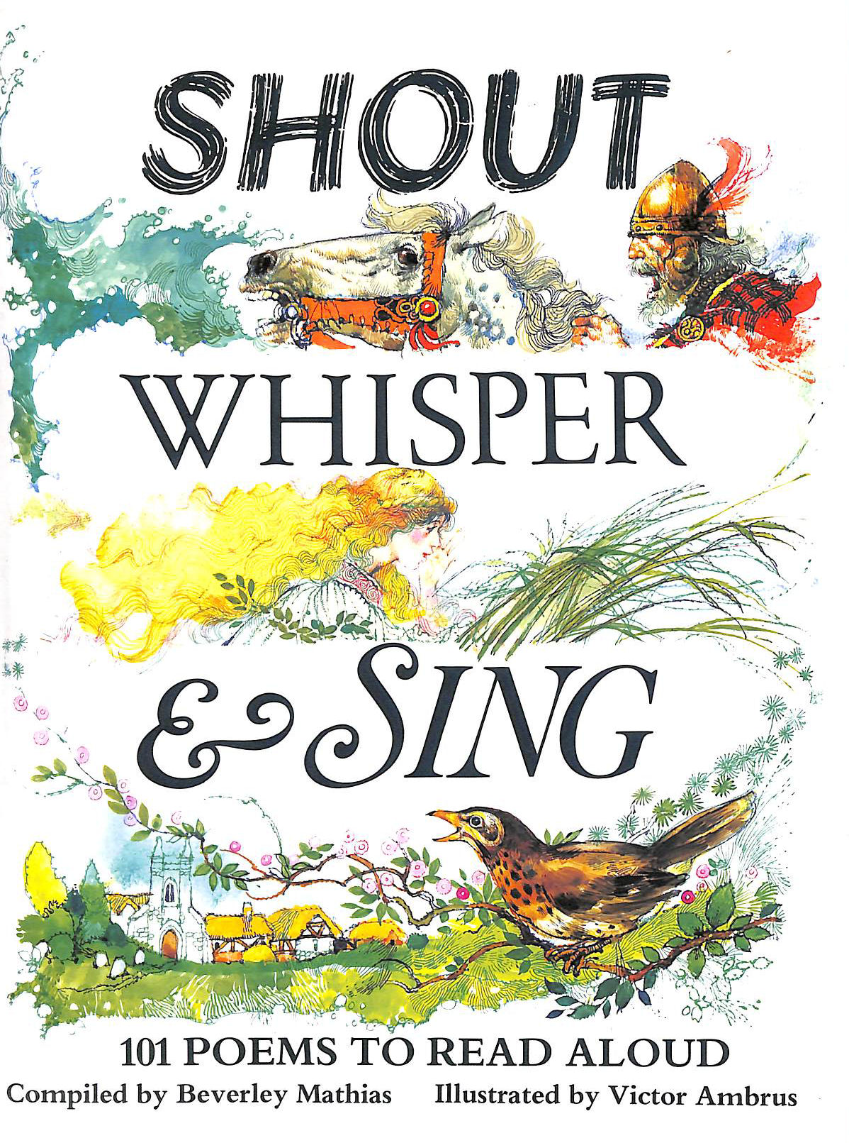 Image for Shout, Whisper and Sing: 101 Poems to Read Aloud