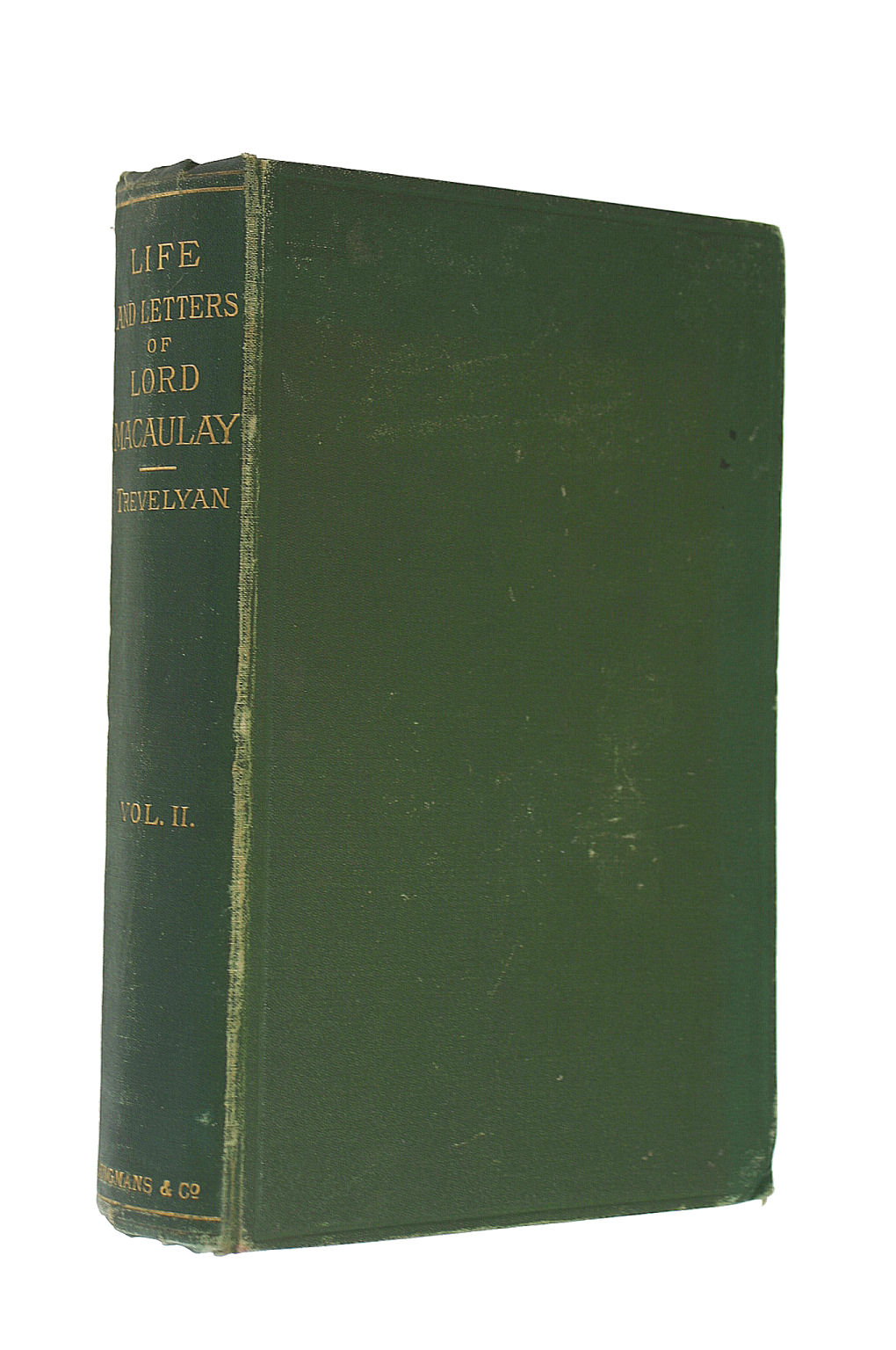 Image for The Life and Letters of Lord Macaulay (Volume 2)