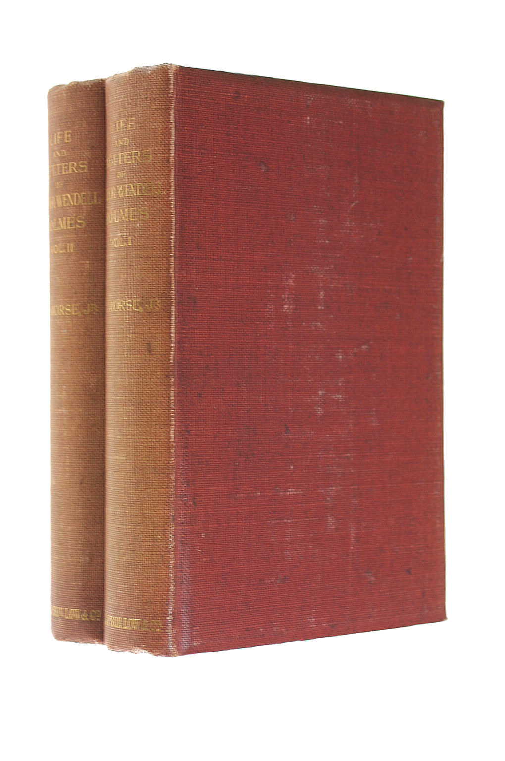 Image for Life and Letters of Oliver Wendell Holmes, 2 Vols