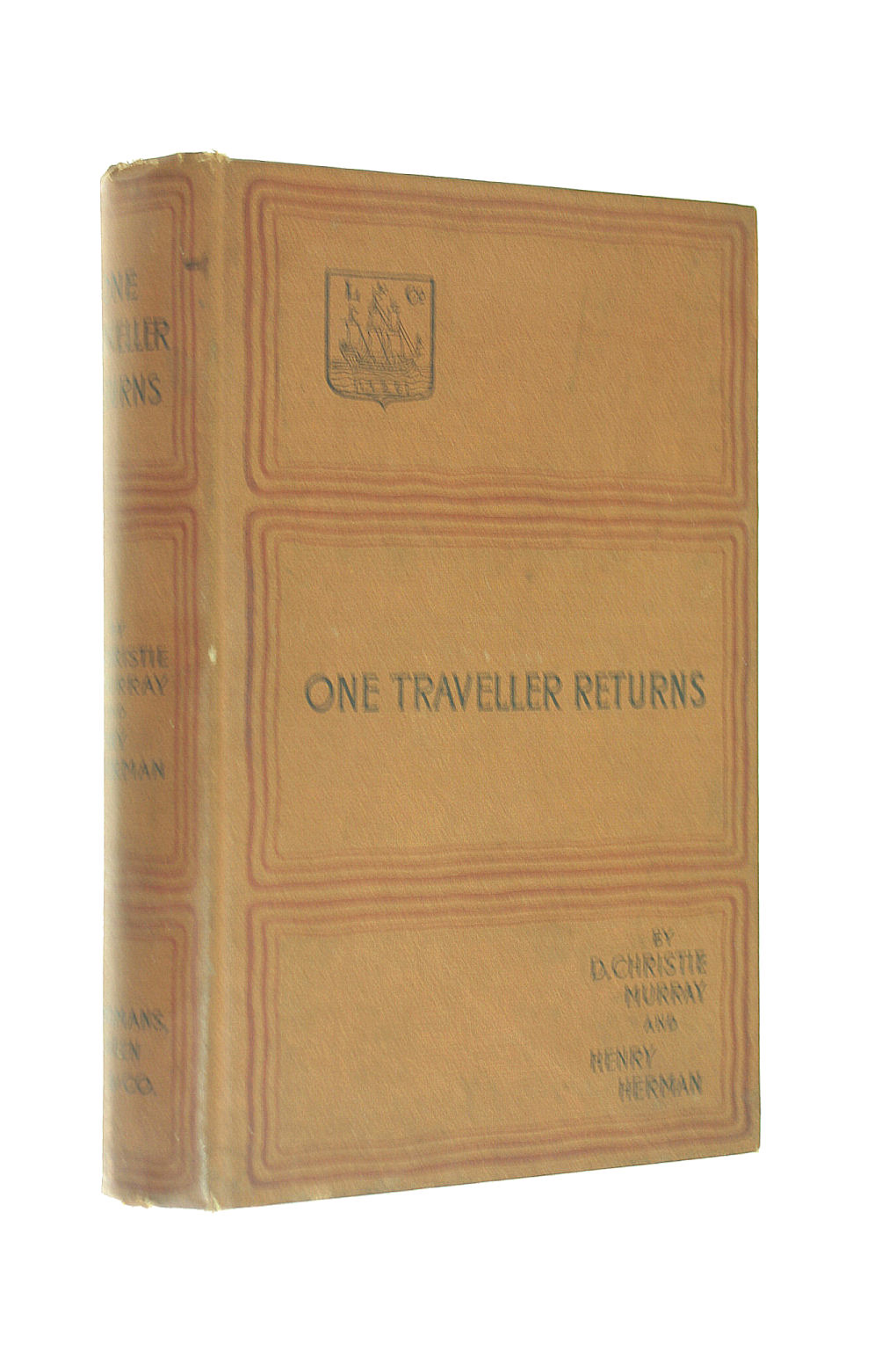 Image for One Traveller Returns. A novel