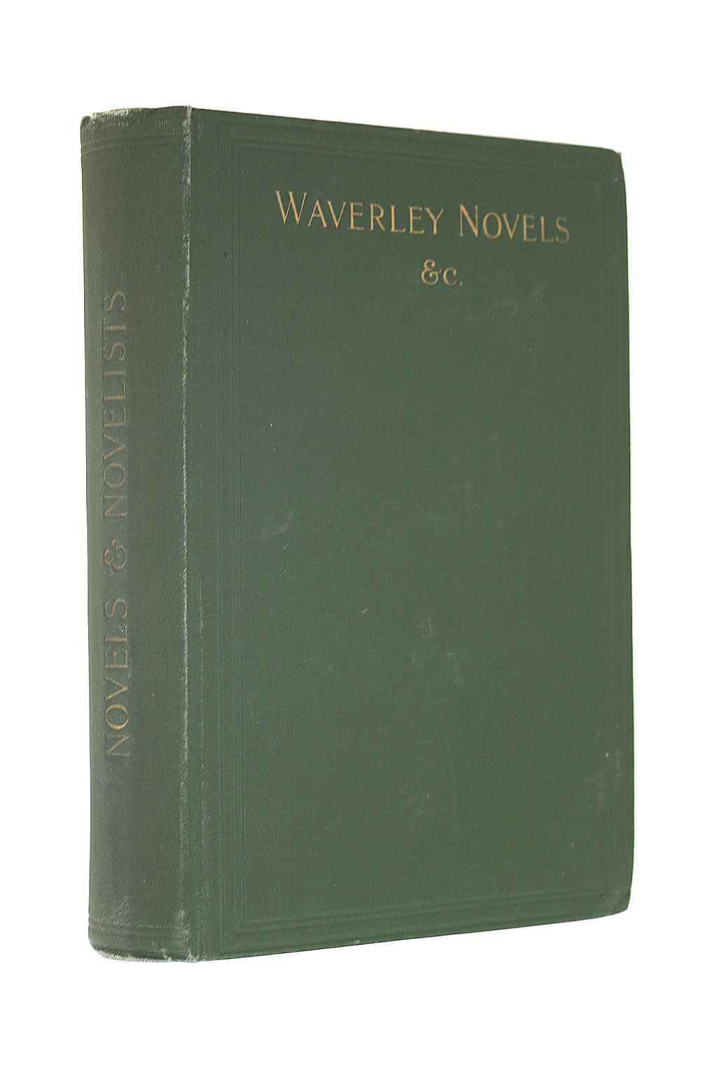 Image for Novels and Novelists. Chapters on the Waverley Novels ... With other Novel articles