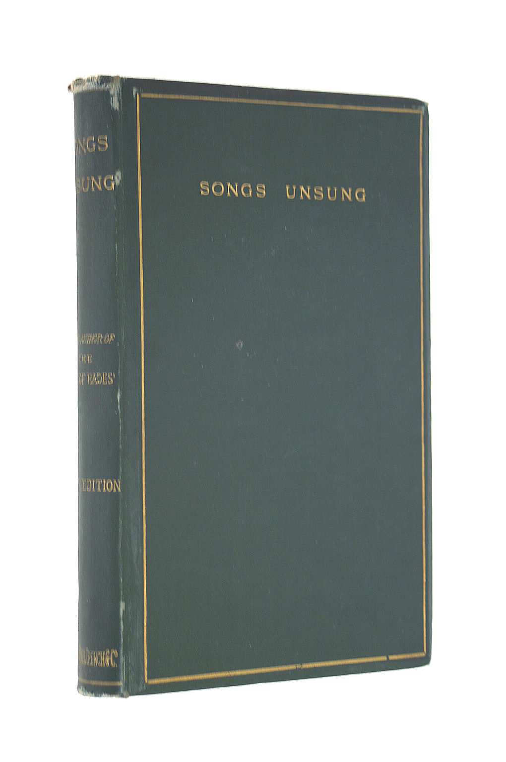 Image for Songs Unsung