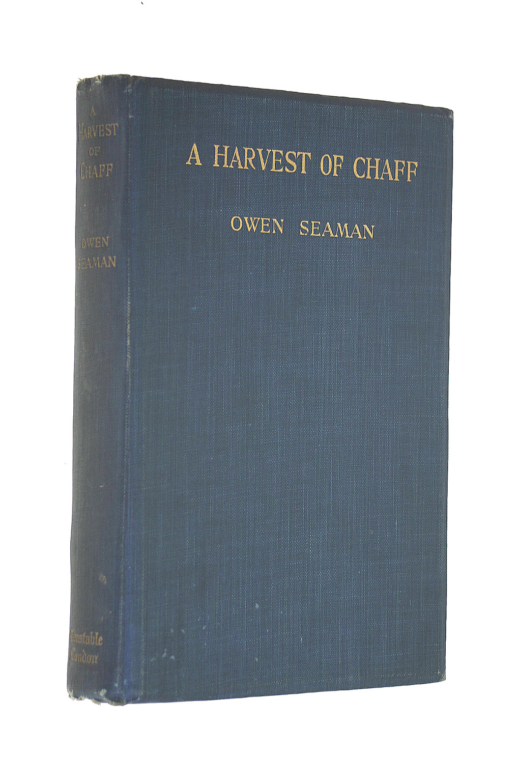 Image for A HARVEST OF CHAFF