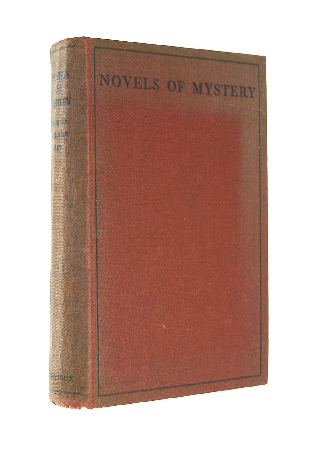 Image for Novels Of Mystery From The Victorian Age