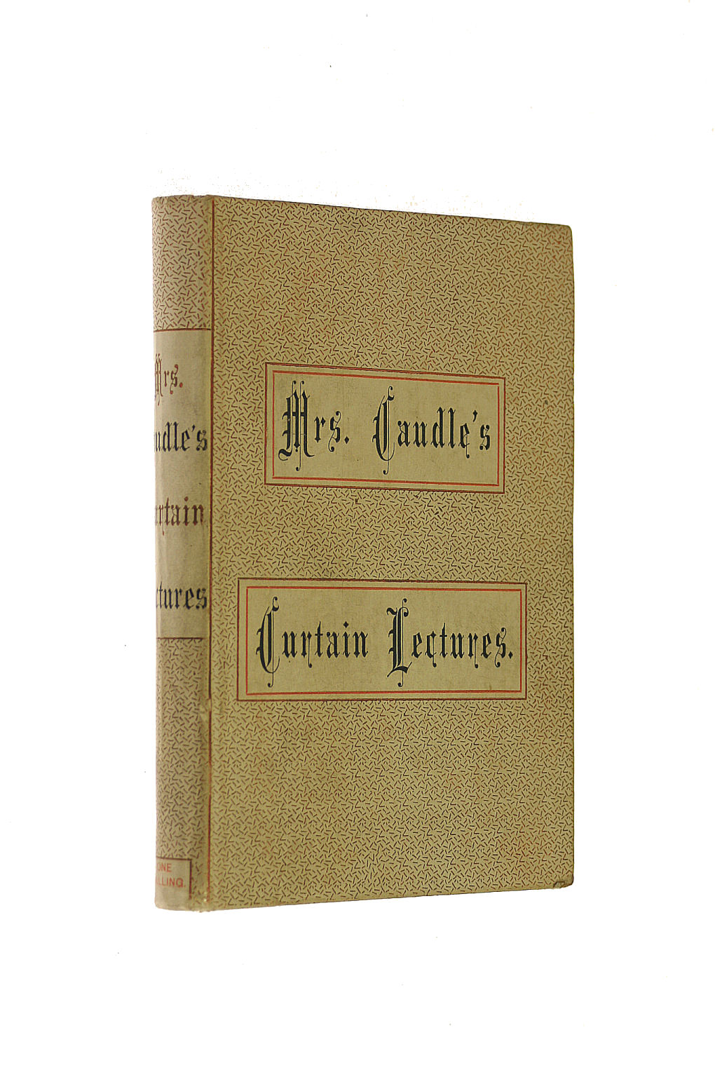 Image for Mrs Caudle'S Curtain Lectures.
