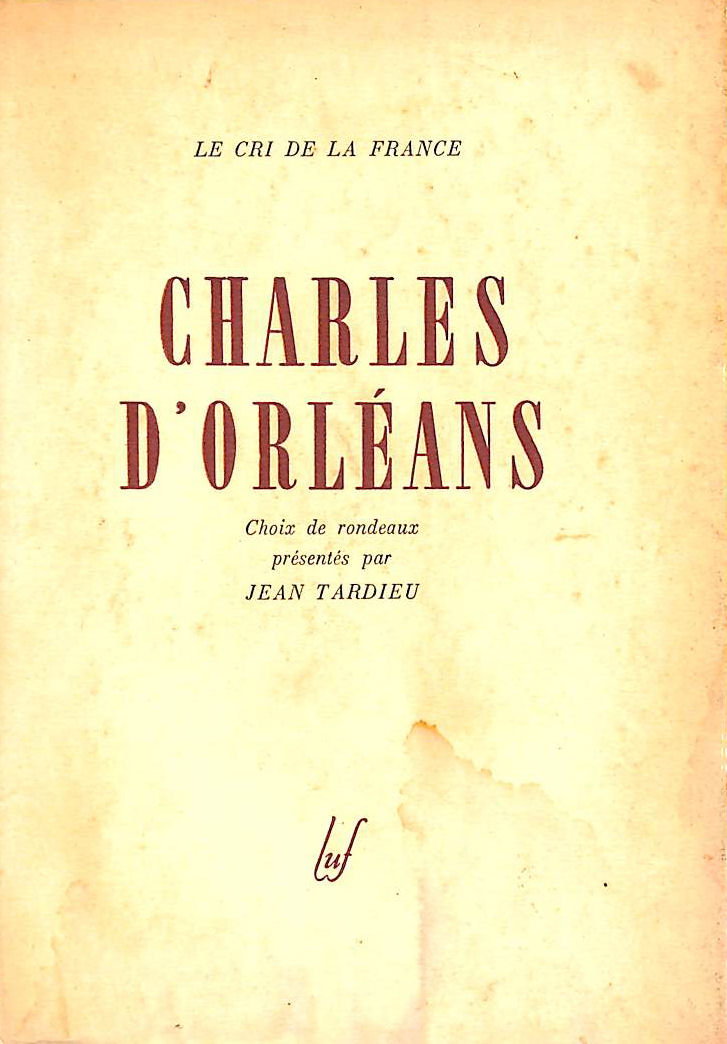 Image for Charles d orleans