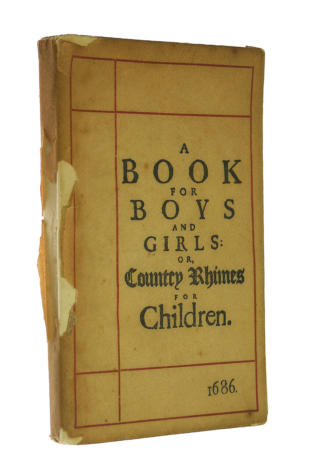 Image for A Book For Boys And Girls Or Country Rhymes For Children