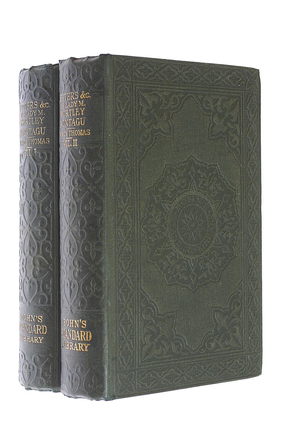 Image for The Letters and Works of Lady Mary Wortley Montagu Edited by Lord Wharncliffe with Additions and Corrections, and a Memoir By W. Moy Thomas