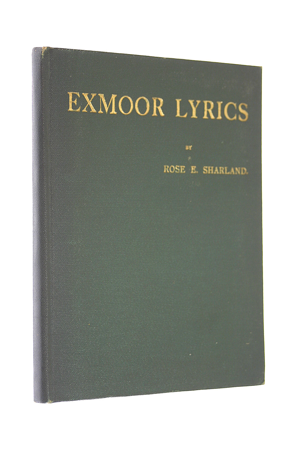 Image for Exmoor Lyrics And Other Verses