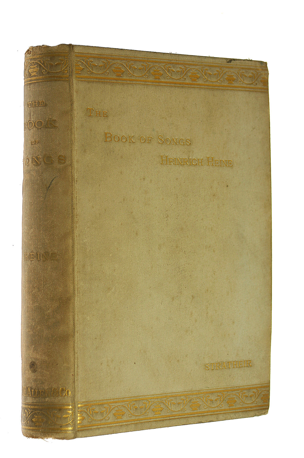 Image for The Book of Songs ... Translated from the German by Stratheir