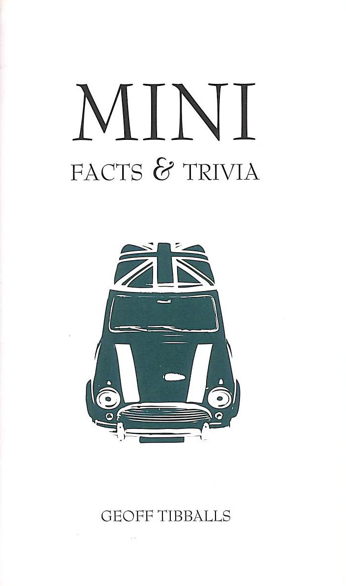 Image for Mini Facts And Trivia