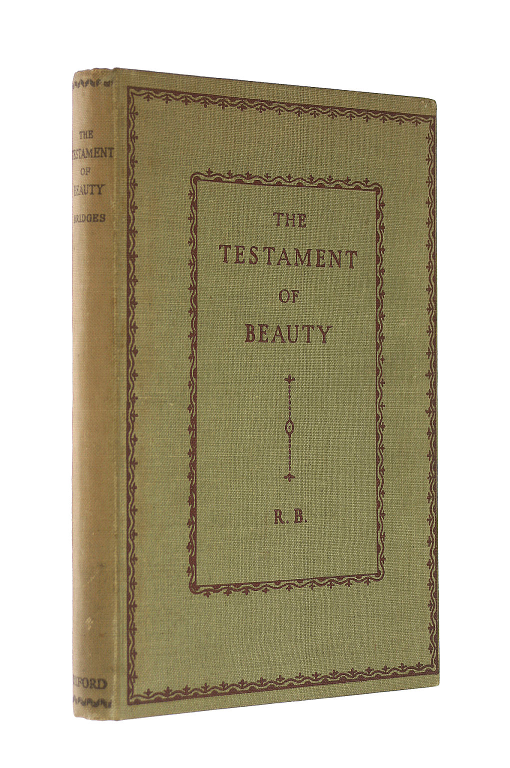 Image for The Testament Of Beauty - A Poem In Four Books