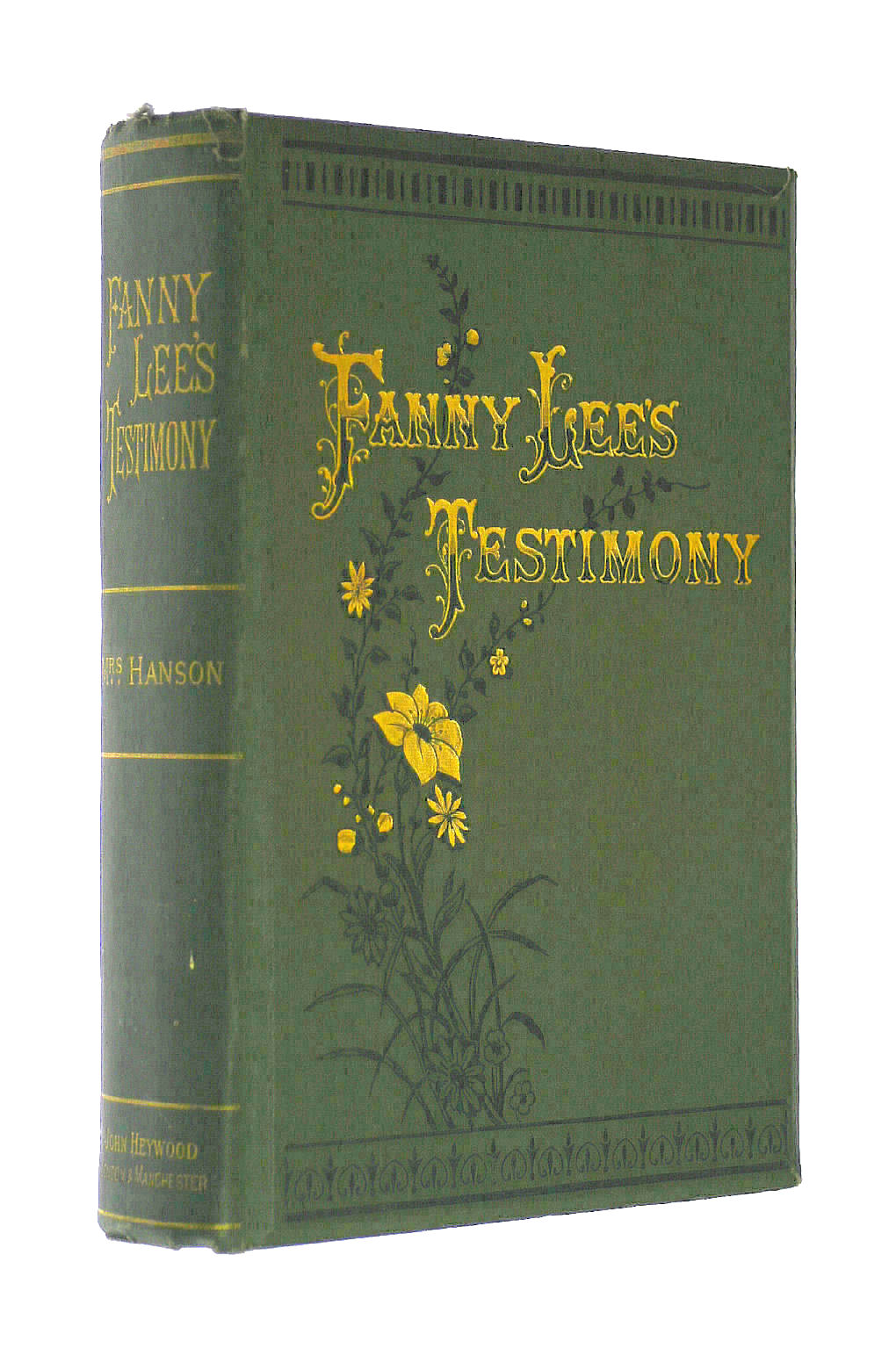 Image for Fanny Lee's Testimony : A Yorkshire Tale