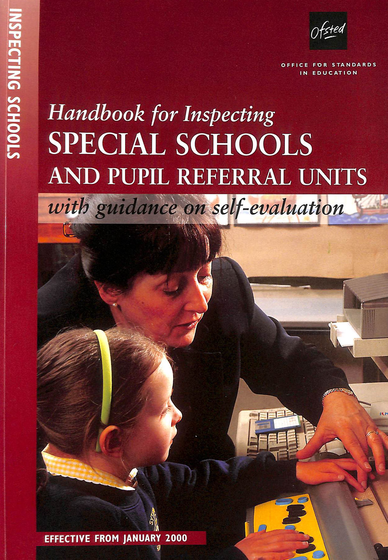 Image for Handbook for Inspecting Special Schools and Pupil Referral Units (Ofsted Handbook)