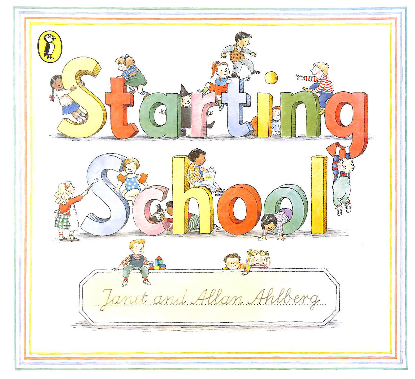 Image for Starting School (Picture Puffin)