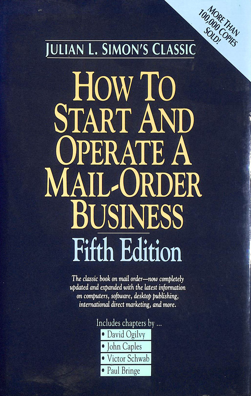 Image for How to Start and Operate a Mail Order Business