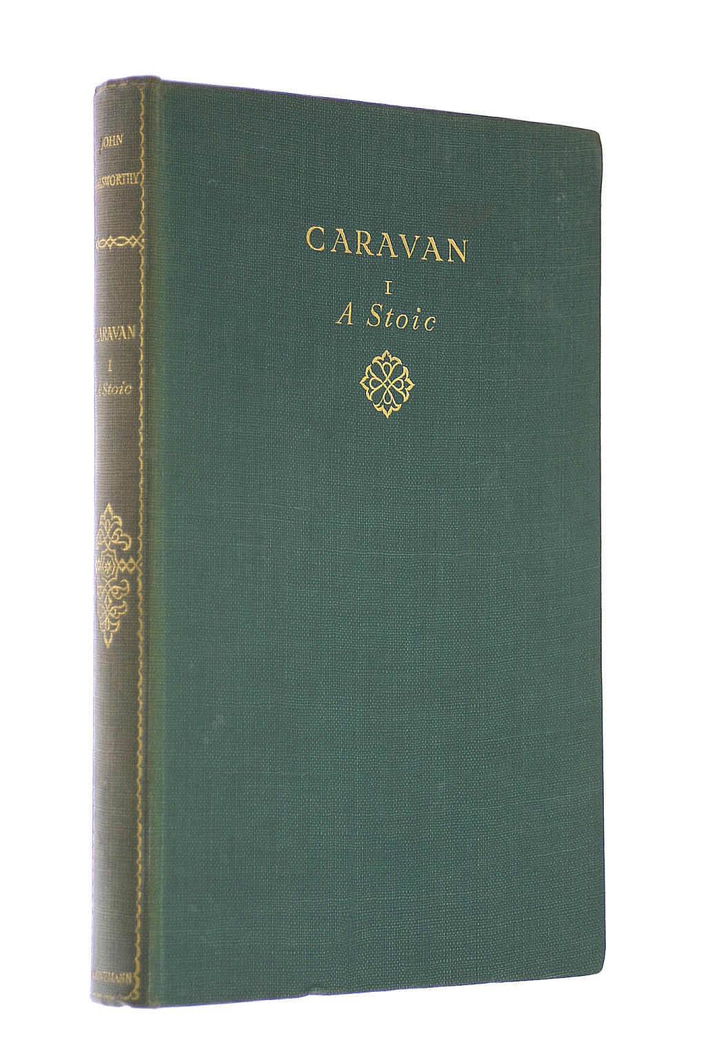 Image for Caravan, Volume I, A Stoic. The Works of John Galsworthy. Grove Edition. Volume 16