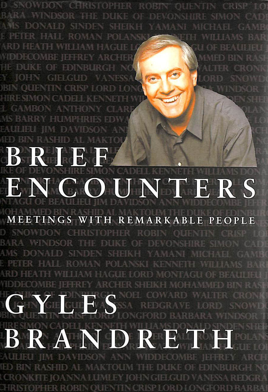 Image for Brief Encounters: Meetings with Remarkable People