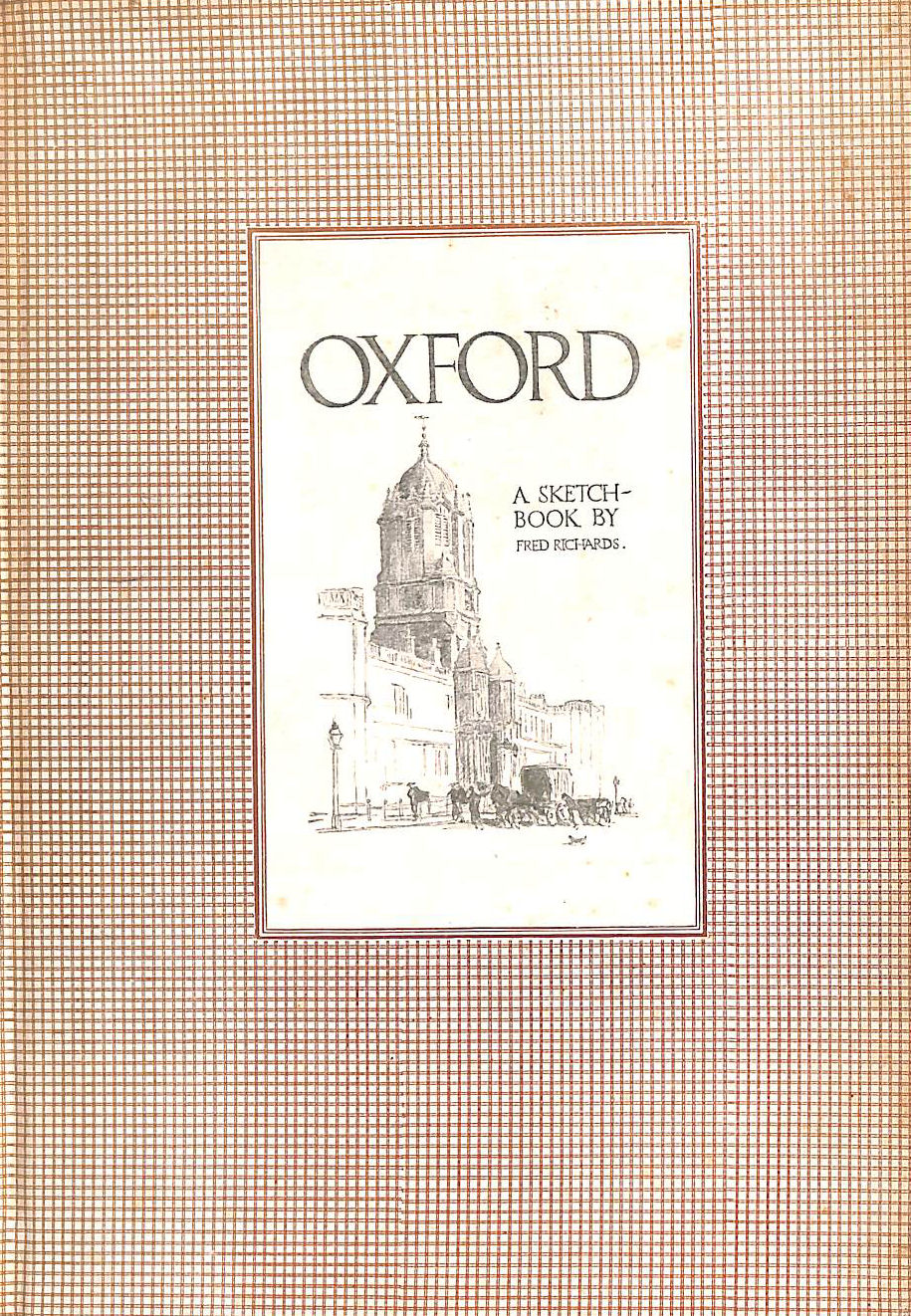 Image for Oxford. a Sketch-Book