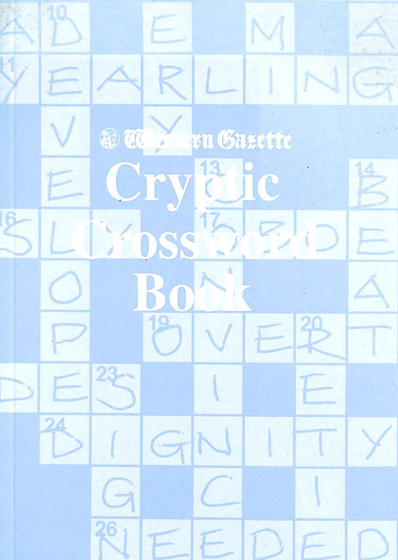 "Image for The ""Western Gazette"" Cryptic Crossword Book"