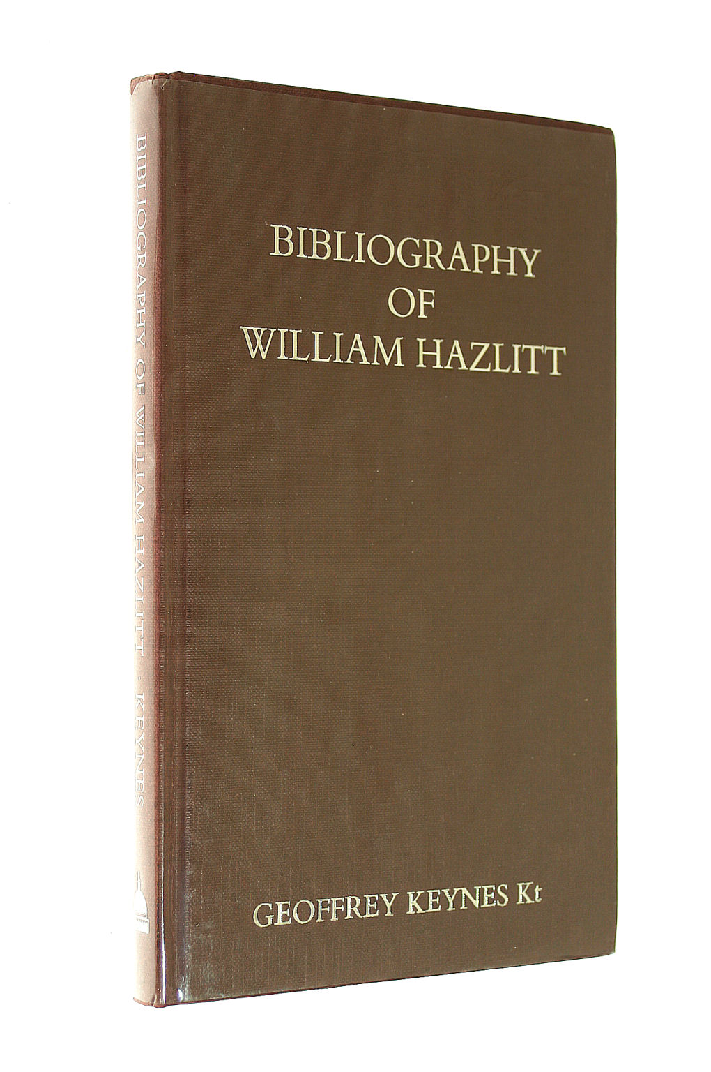 Image for Bibliography of William Hazlitt