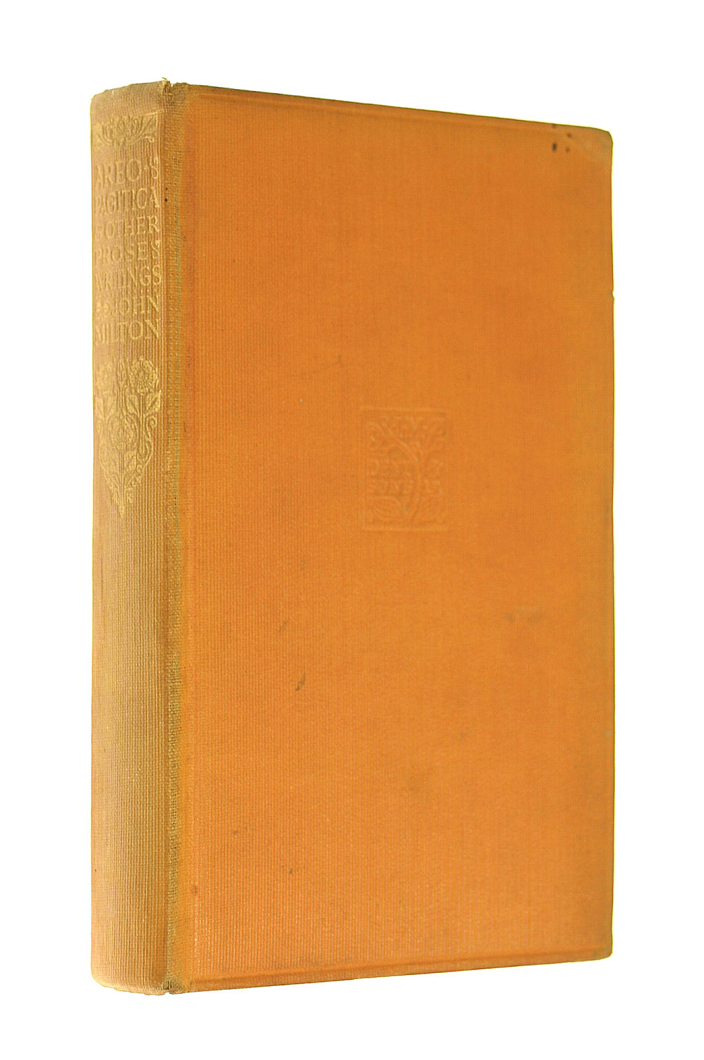 Image for Areopagitica,and other prose works,  introduction by Prof. C. E. Vaughan,  Everyman's Library Series 795