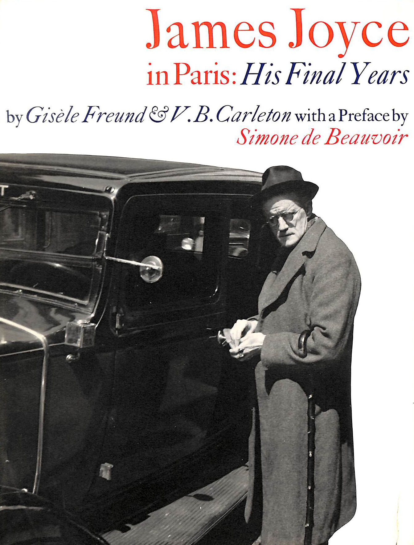 Image for James Joyce in Paris: His final years