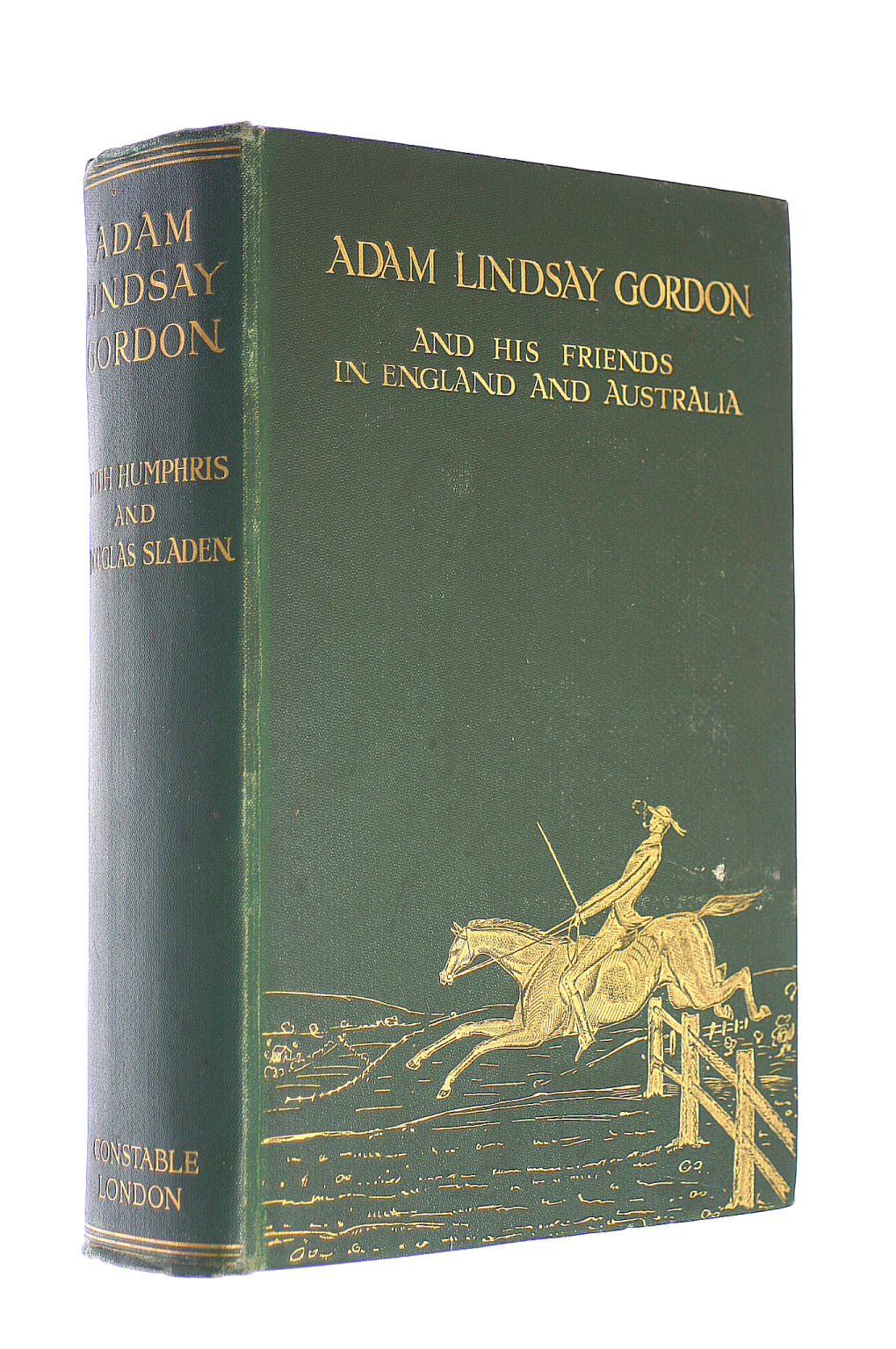 Image for Adam Lindsay Gordon, And His Friends In England An