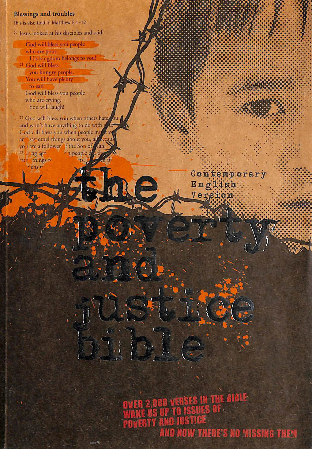 Image for Poverty and Justice Bible-CEV (Contemporary English Version Bibles)