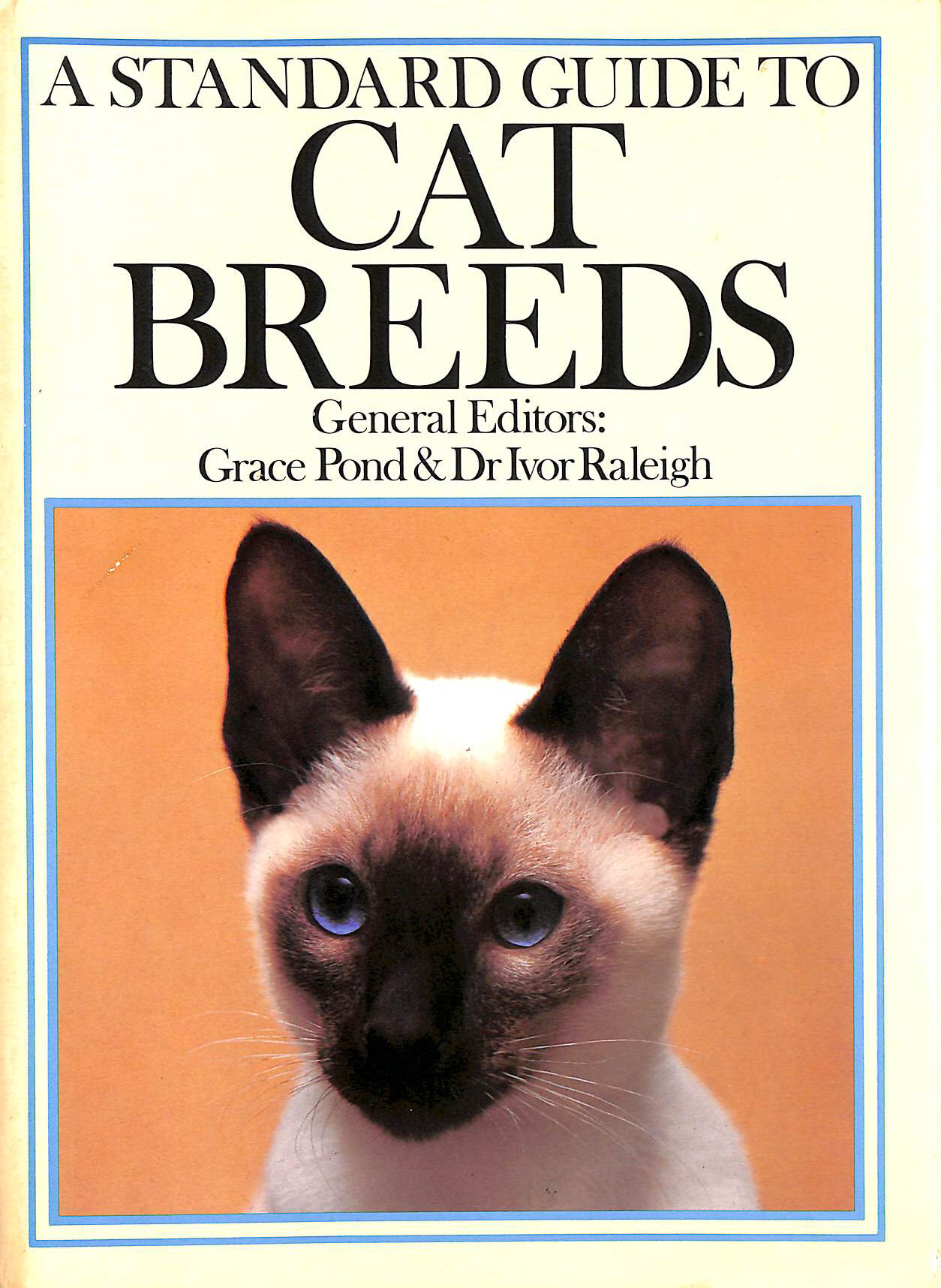 Image for A Standard Guide To Cat Breeds