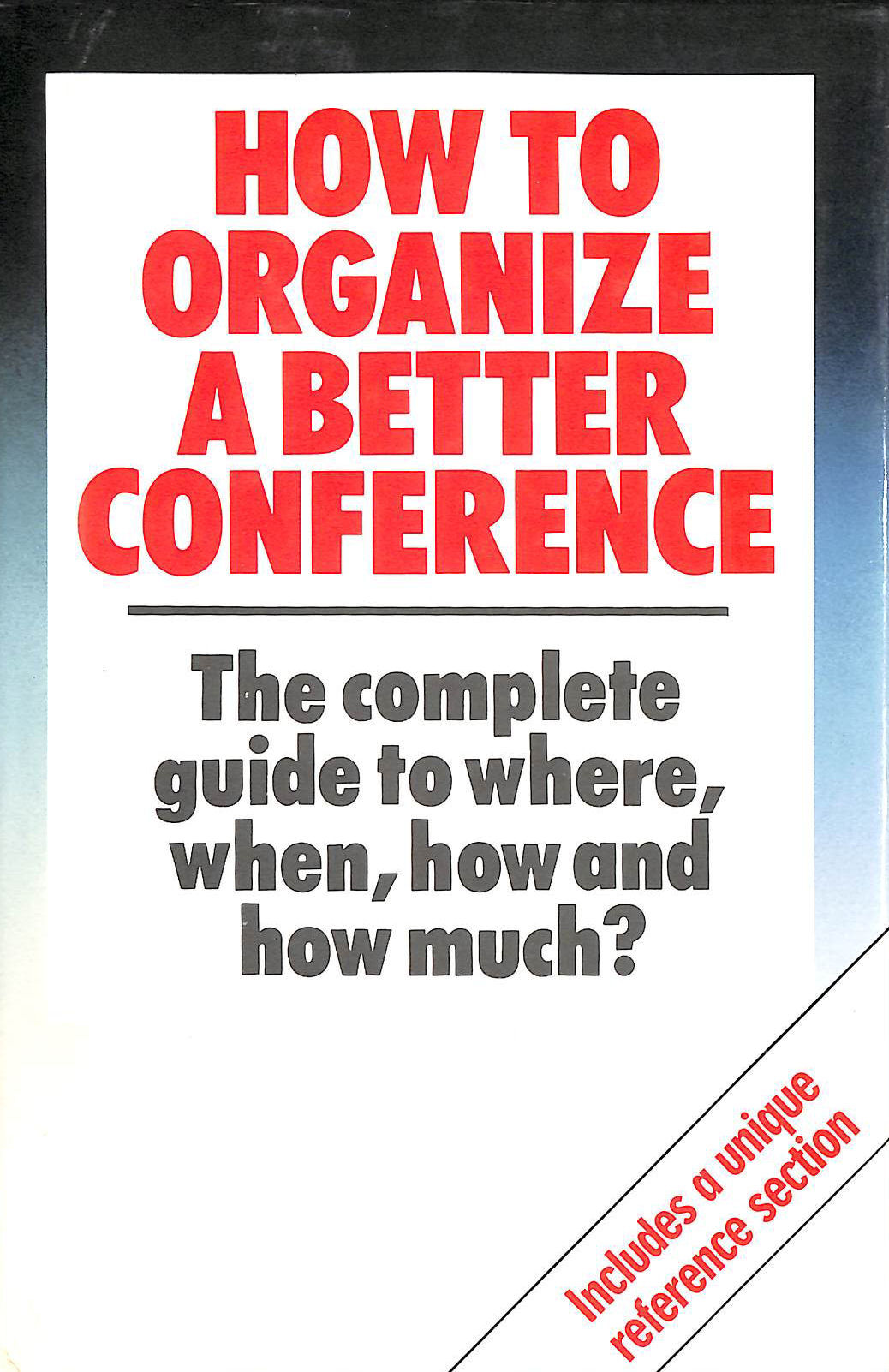Image for How to Organize a Better Conference