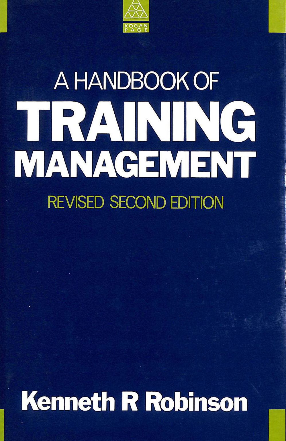 Image for A Handbook of Training Management