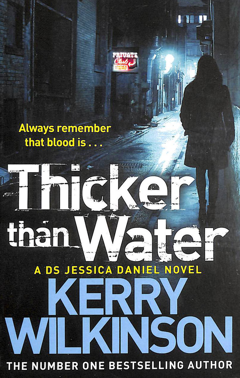 Image for Thicker Than Water (Jessica Daniel series)