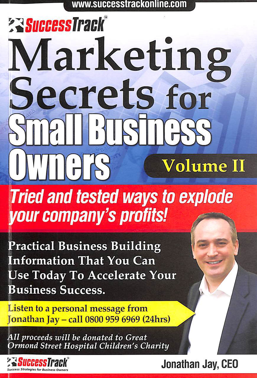 Image for Marketing Secrets for Small Business Owners Vol II