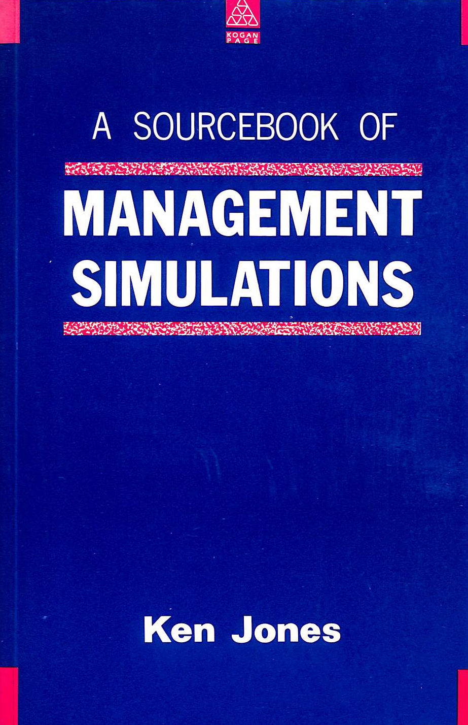 Image for Source Book of Management Simulations